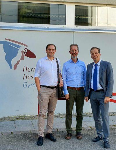 Zu Besuch am Hermann-Hesse-Gymnasium