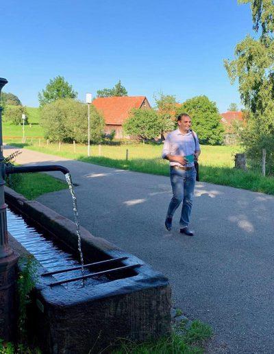 Hausbesuche in Speßhardt & Weltenschwann