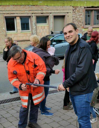 Fackelumzug der Feuerwehr Altburg