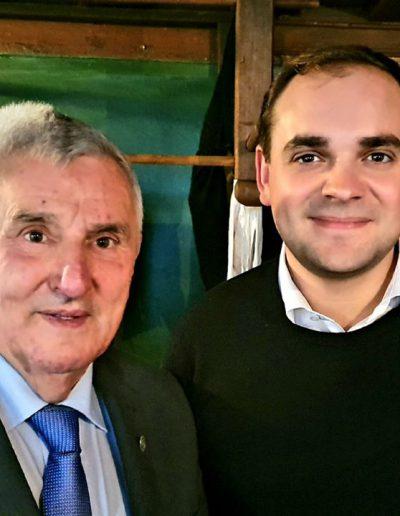 Ehrenmedaille für Willi Hanselmann